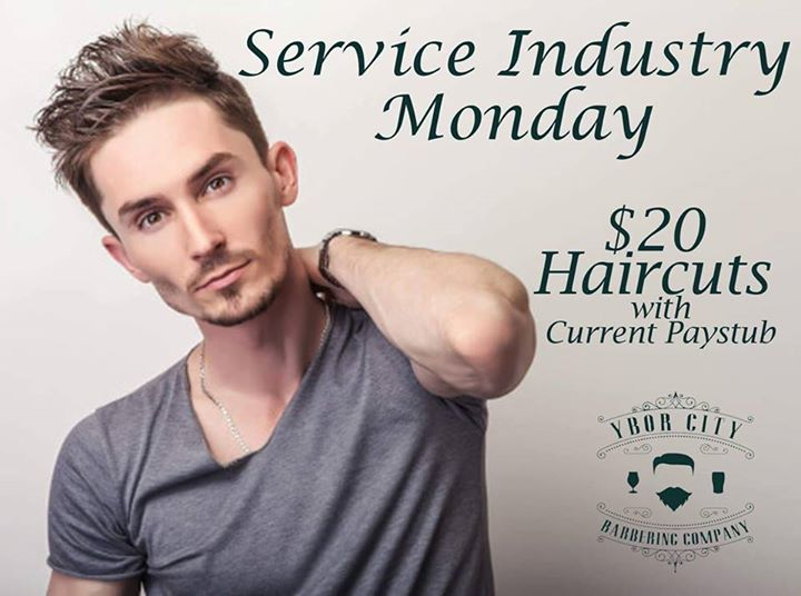 Come Get Our Signature Haircut Free Beer Shampoo And Style
